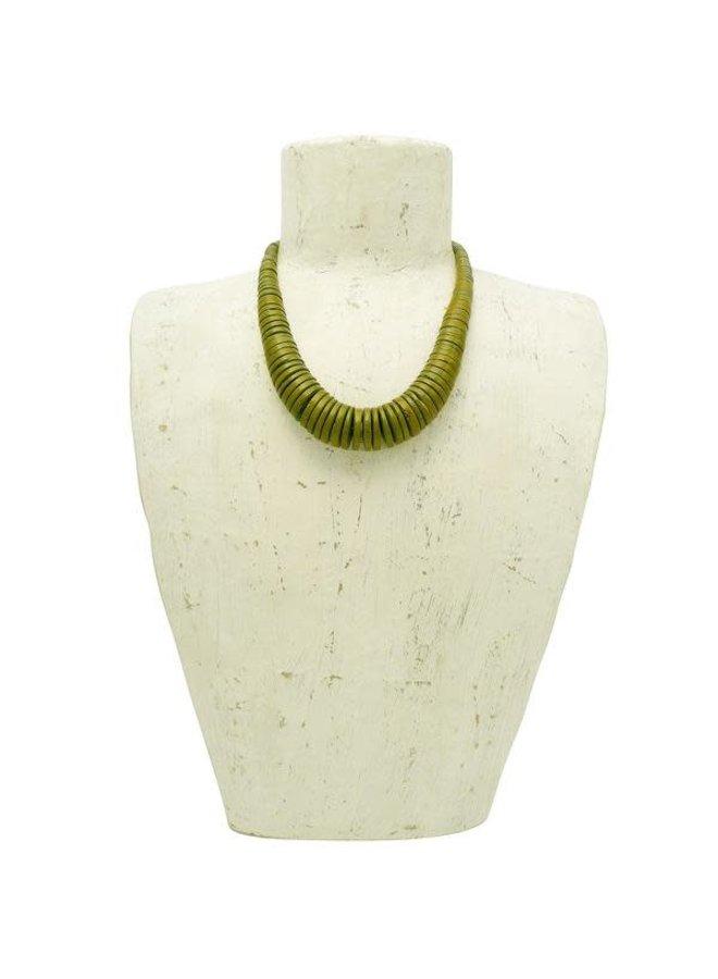 Türkisfarbene Halskette 038