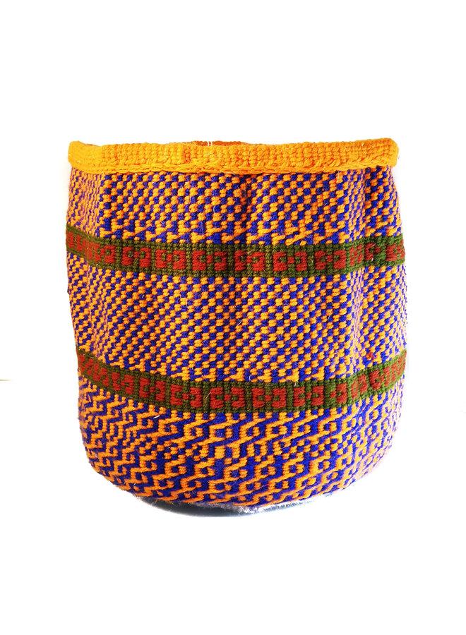 Korb aus kenianischer Wolle und Sisal von Esther Makau 56
