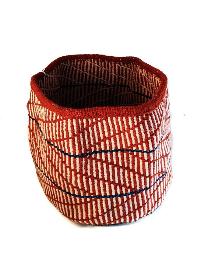 Korb aus kenianischer Wolle und Sisal von Jane Musyoka 57
