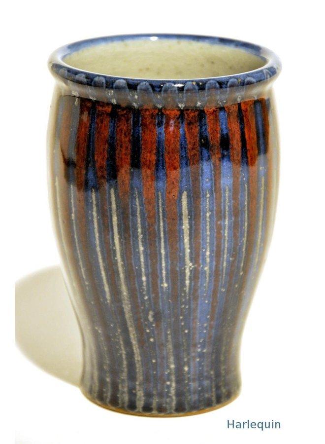 Harlekin Vase 15cm mittelhoch 32