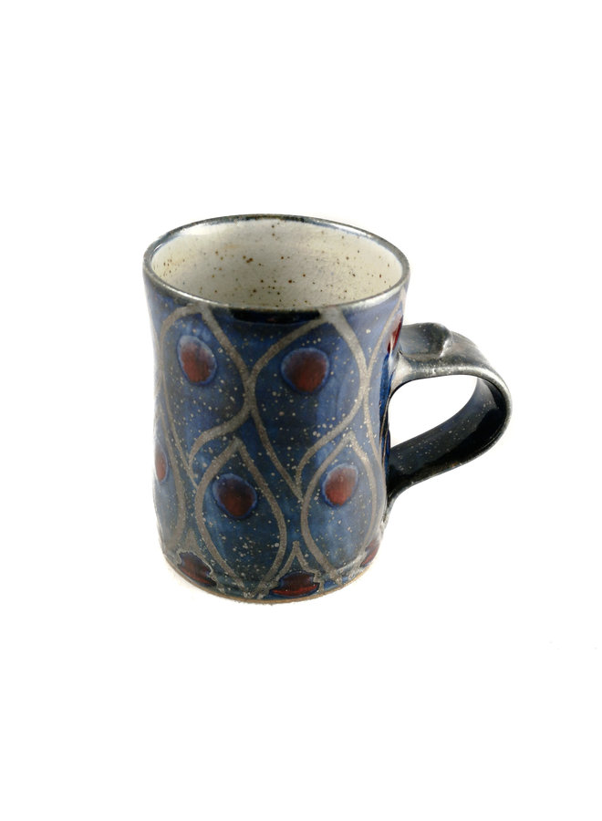 Flame Earthenware small mug 11