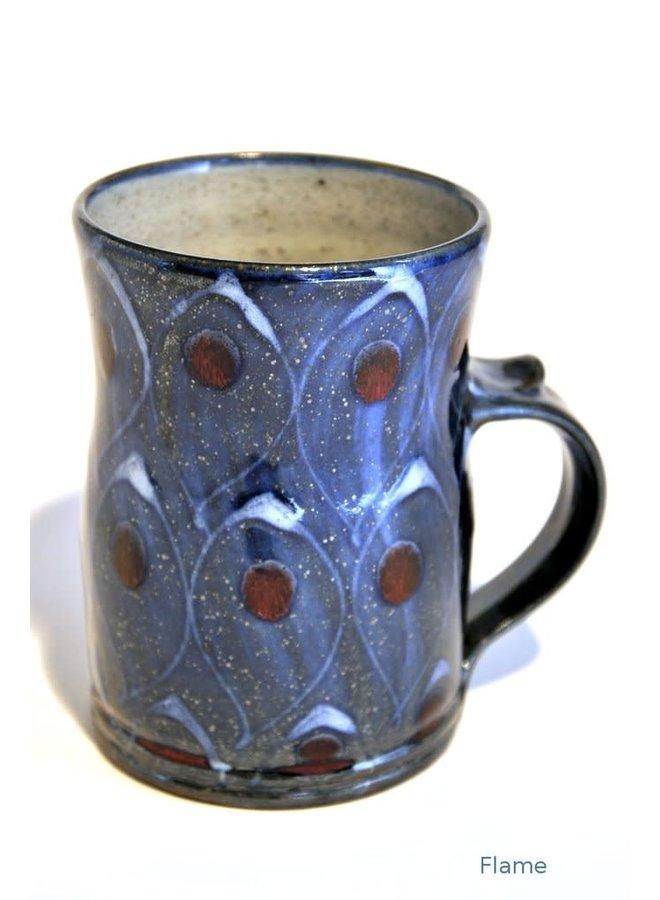 Flame large mug 03