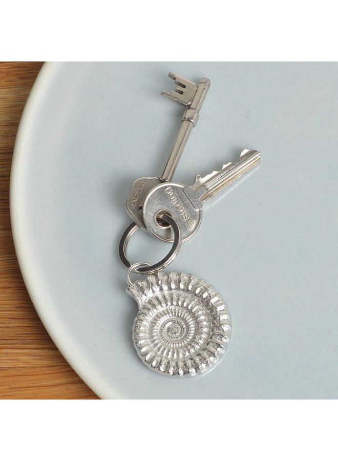 Ammonit-Schlüsselanhänger 56