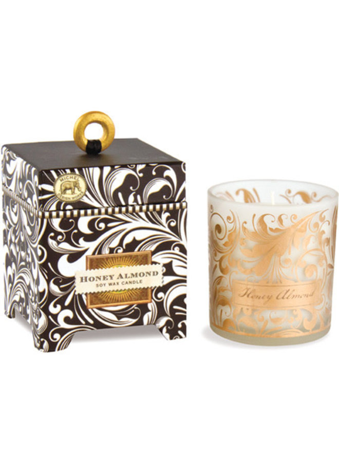 Honey and Almond  6.5 oz. Soy Wax Candle
