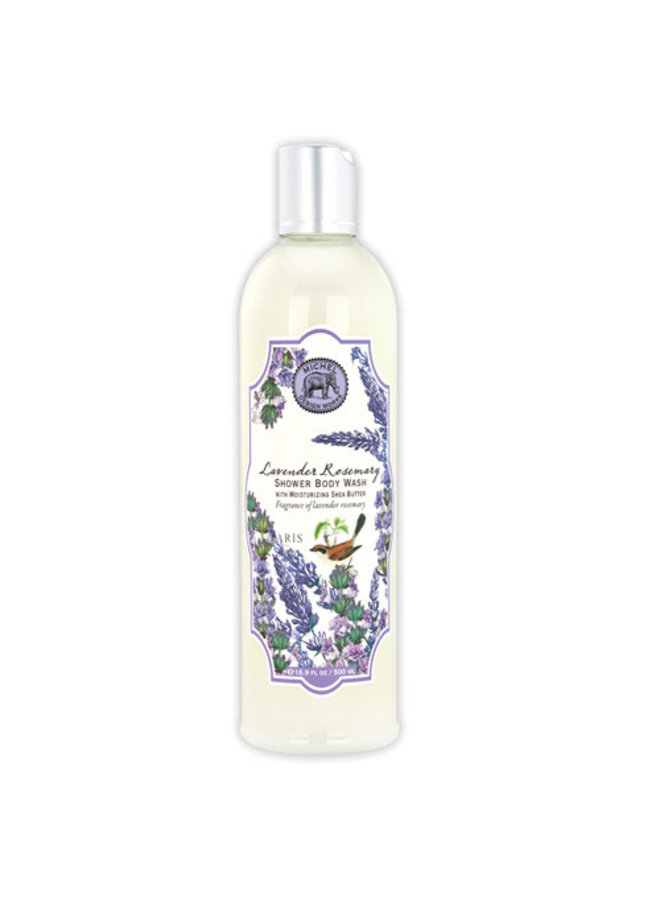 Lavender and Rosemary Shower Body Wash 500ml