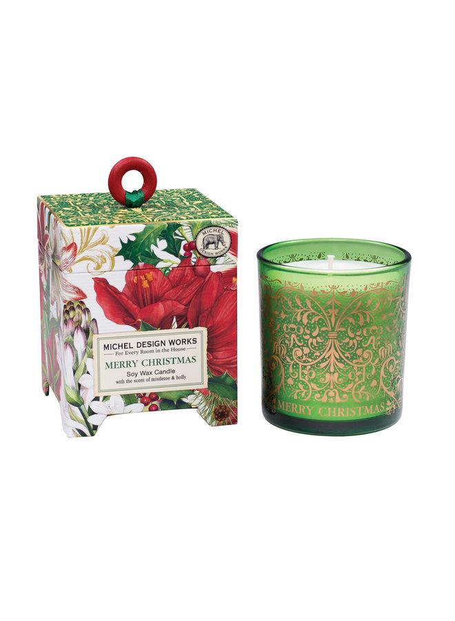 Merry Christmas Soya wax Candle