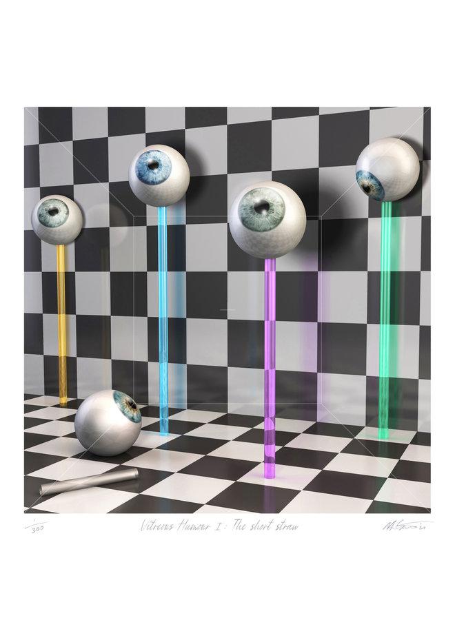 Glaskörper Humor 1: Der kurze Strohhalm06