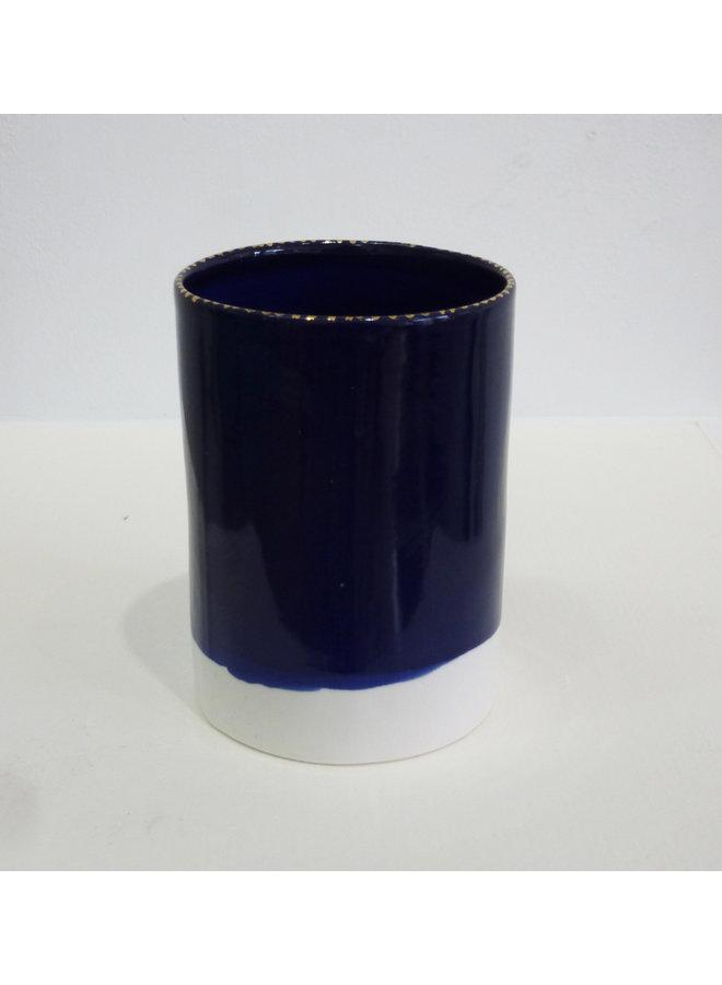 Röhrengefäß Kobalt Medium 02
