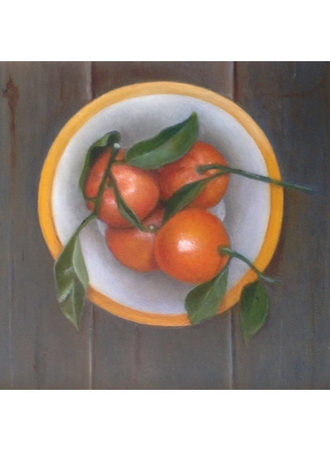 Schale mit Orangen 036