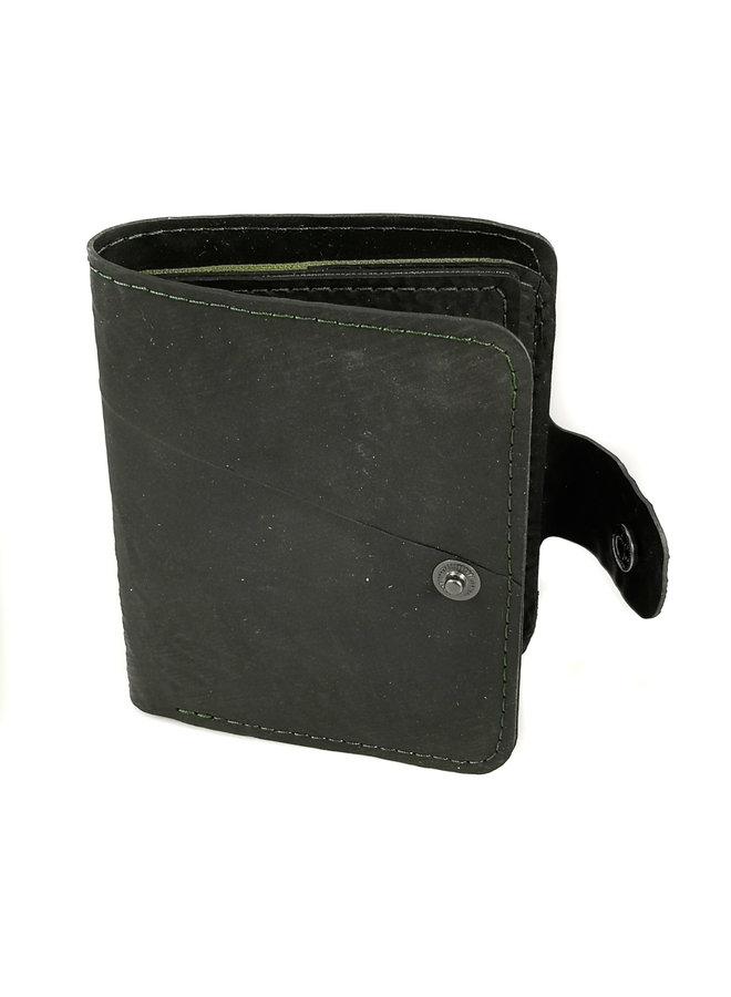 Geldbörse Ben Style Schlauch mit Reißverschluss Münz- & Kartenfach Oliv 65