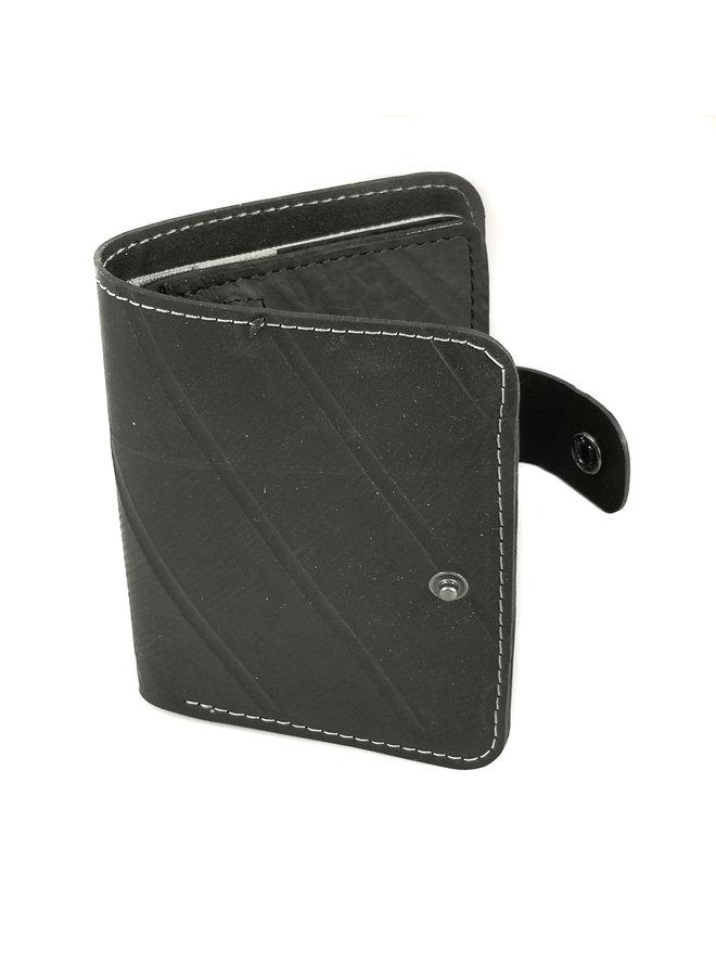 Geldbörse Ben Style Schlauch mit Reißverschluss Münz- & Kartenfach Grau 63