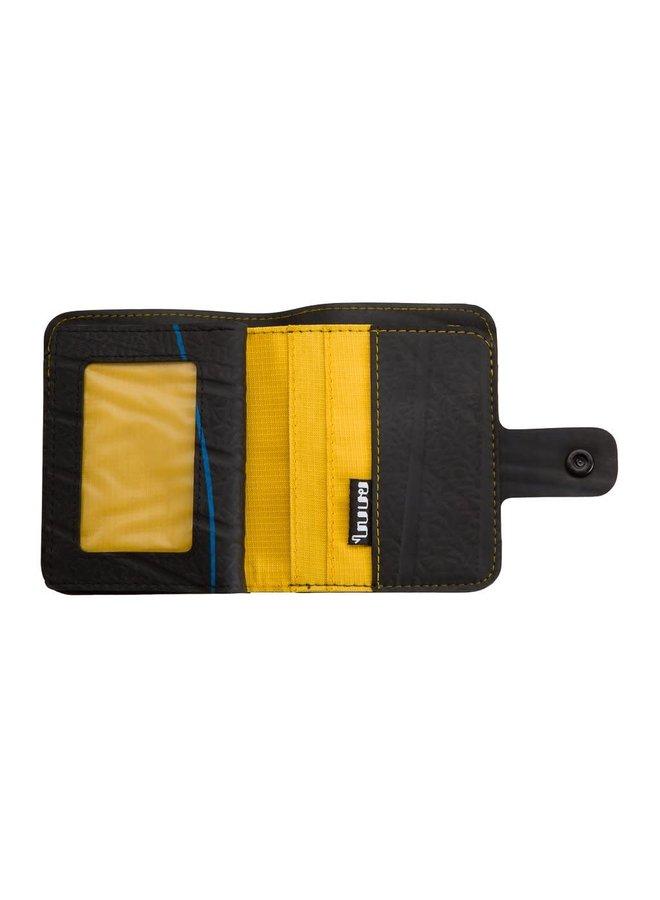 Geldbörse Ben Style Schlauch mit Reißverschluss Münz- & Kartenfach Gelb 81