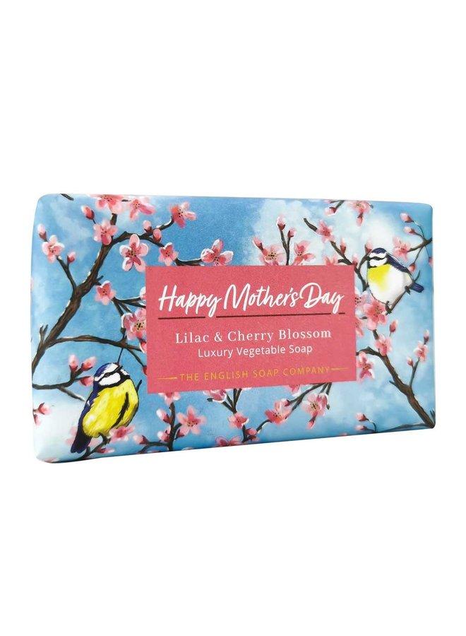 Happy Mothers Day Gemüseseife Flieder und Kirsche