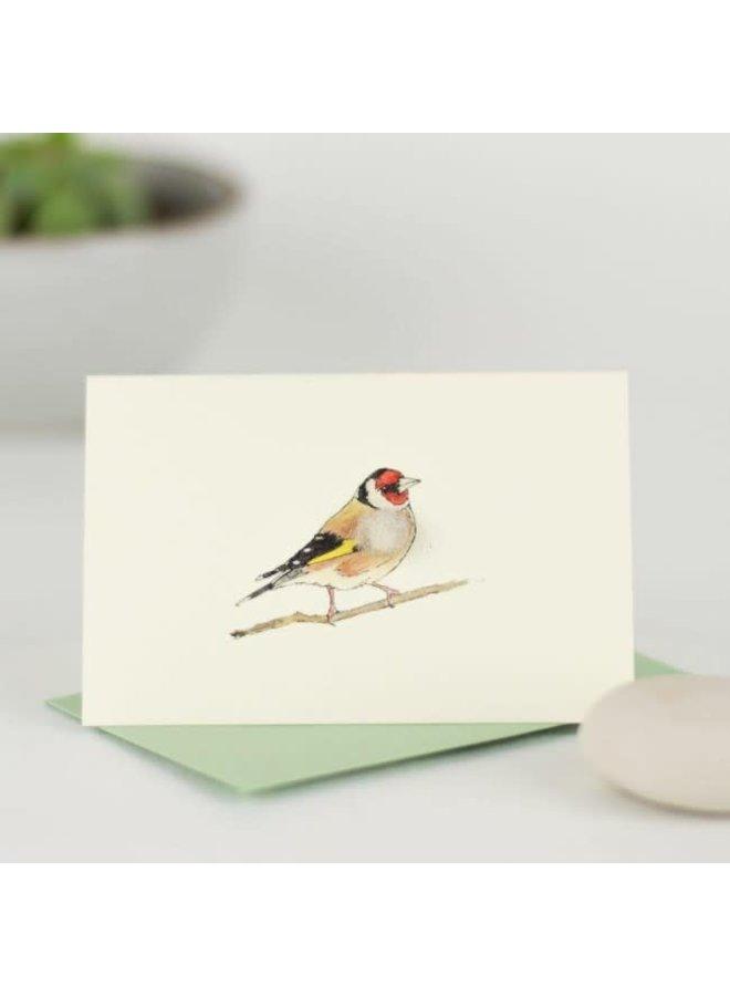 Goldfinch  Mini Card 08