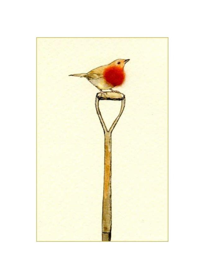 Robin on Spade Mini Card 09