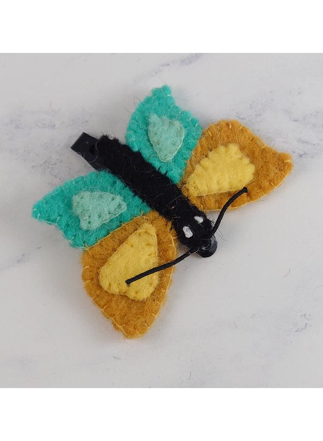 Schmetterlingsfilz-Haargriff 54