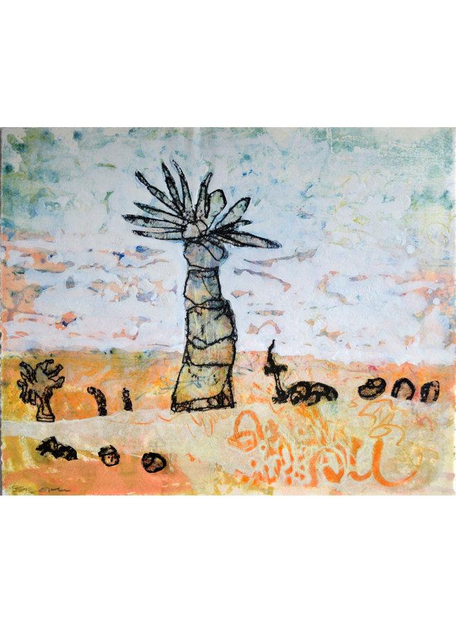 Shoreline 6 Aquarell & Monoprint - 12