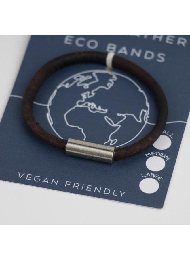 Eco Kork einzelnes magnetisches Raucharmband Large 30
