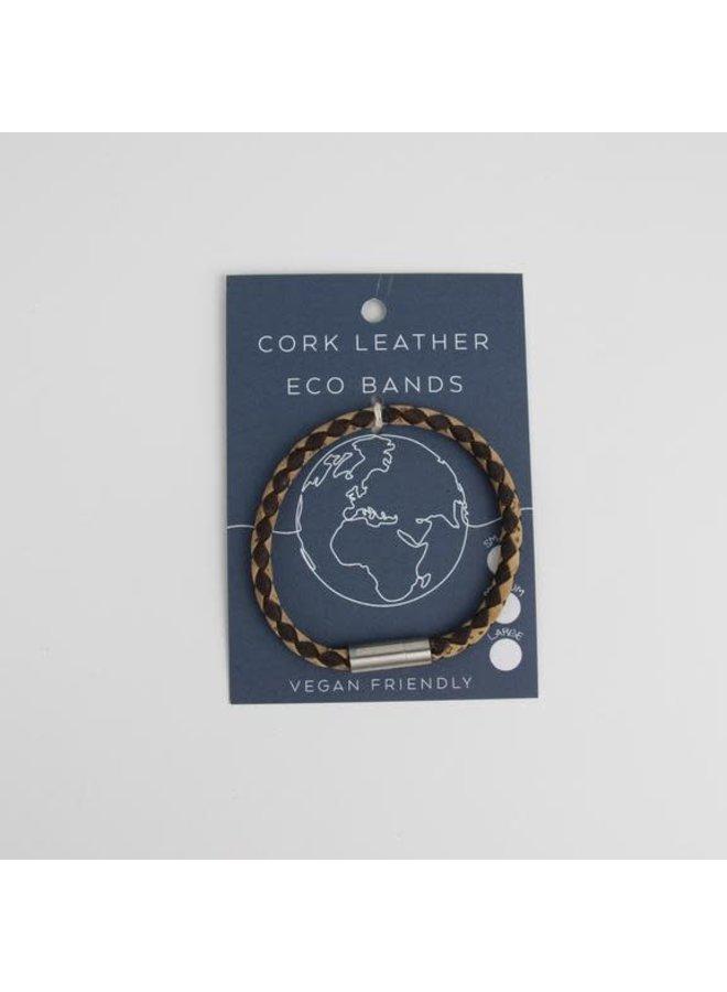 Eco Kork Einzel-Magnet-Dreharmband Medium 26