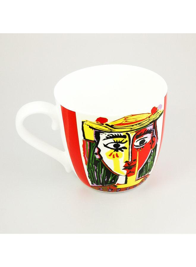 Picasso-Frau mit Hut