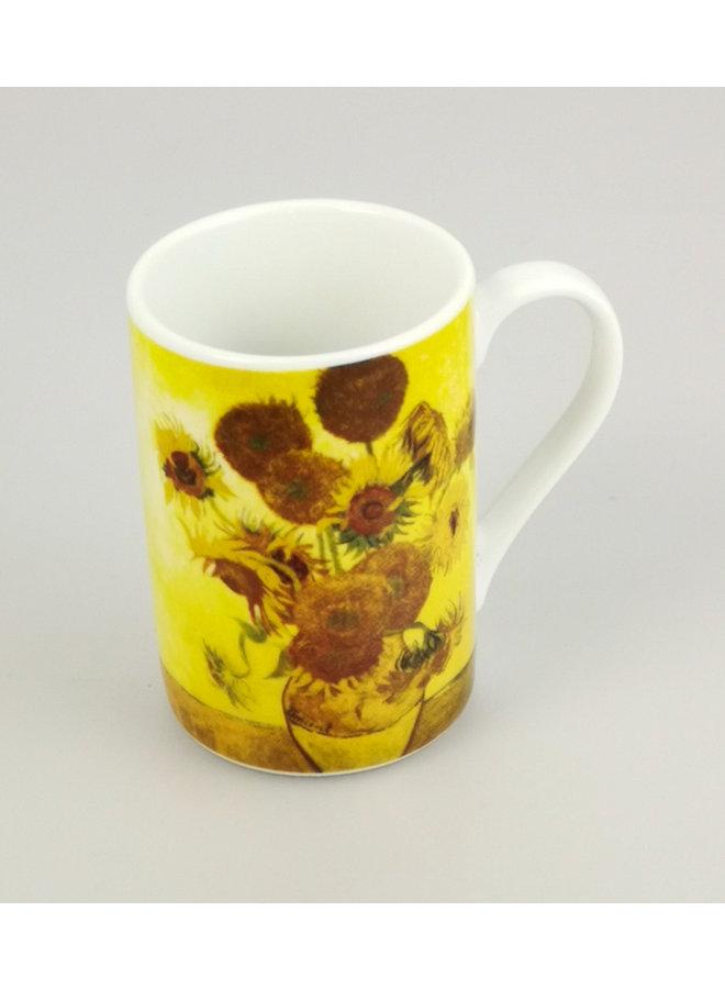 Sonnenblumen Van Gogh Mini-Espresso-Tasse
