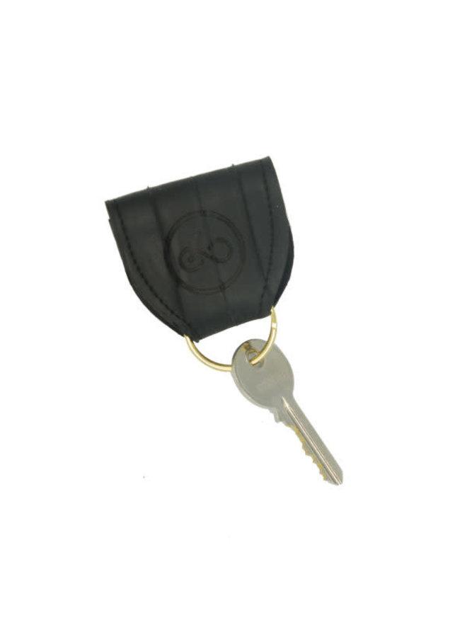 Schlüsselanhänger - recycelter Schlauch