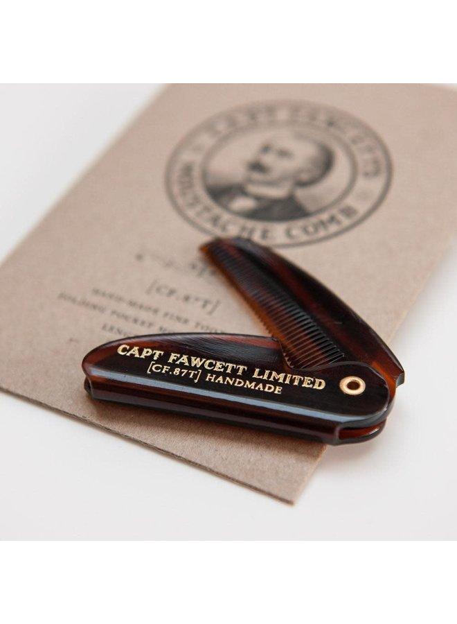 Moustache Folding Pocket Comb 09