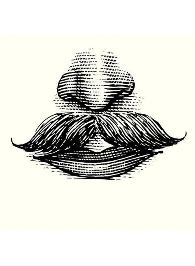 Moustache Wax & Comb Big Peat Whisky Kit 04