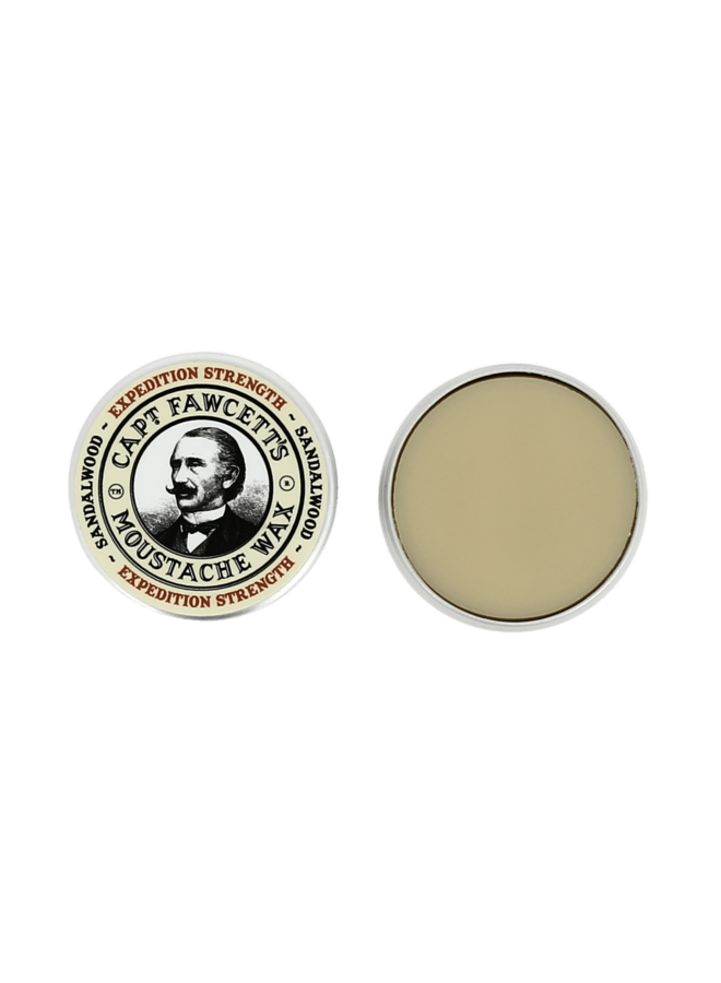 Moustache Wax & Comb Expedition Strength Kit 06