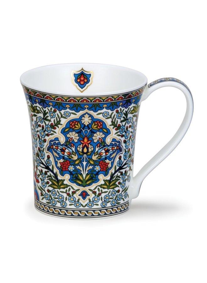 Amara Perser Blau/Rot Muster Tasse 123