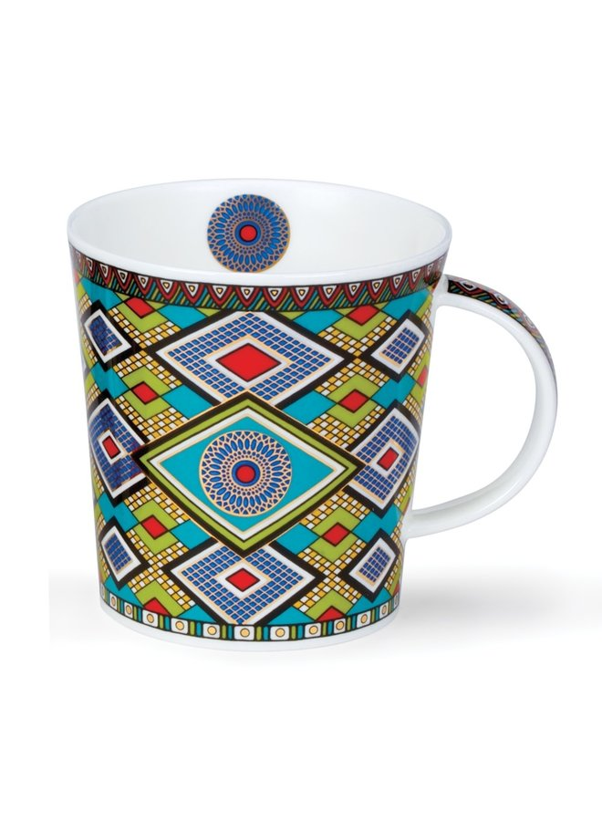 Masai Blaue Mustertasse 118