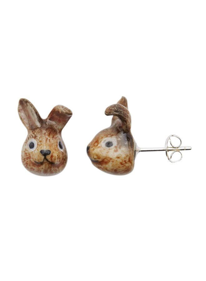 Bunny Stud Porzellanohrringe 119