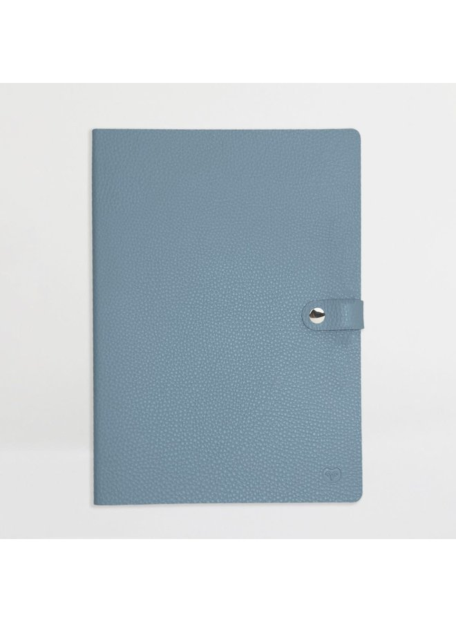A4 Notebook Teal and Red 56