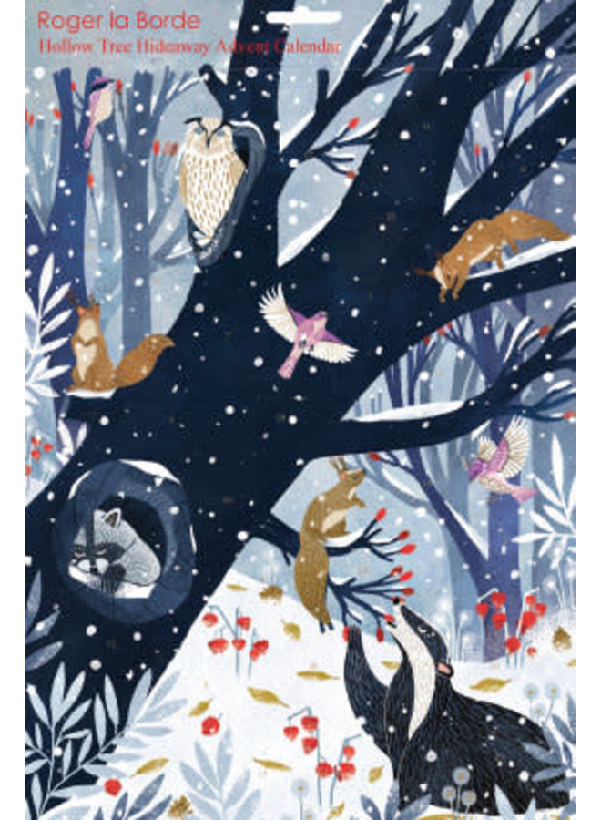 Hollow Tree Hideaway  Advent Calendar by Oreski