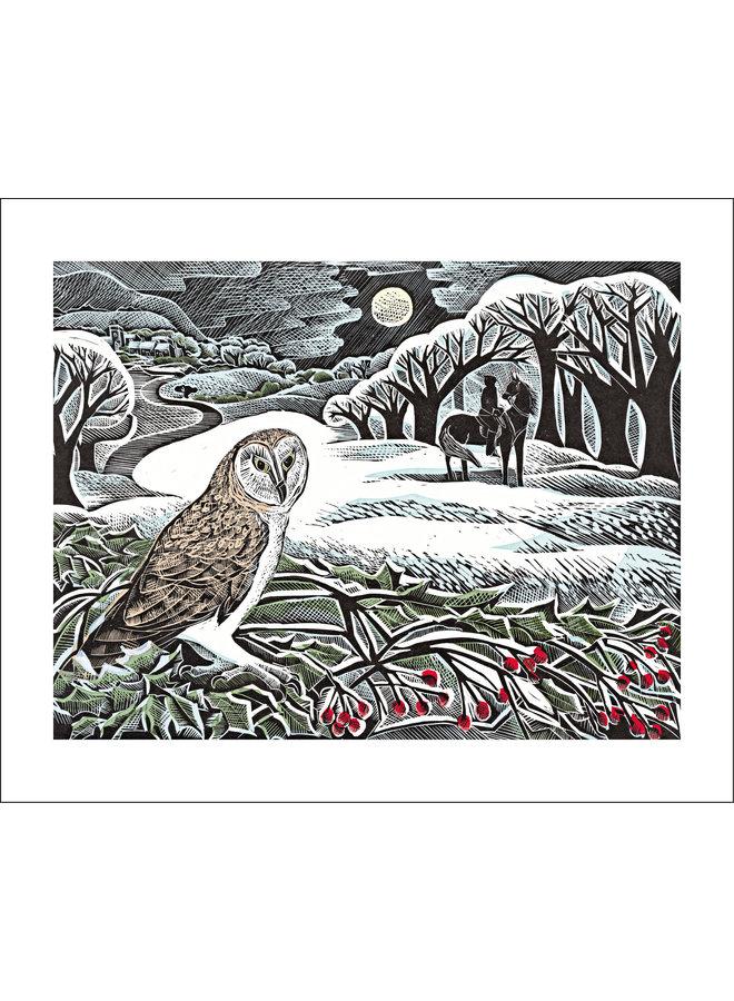 Owl Flight  by Angela Harding