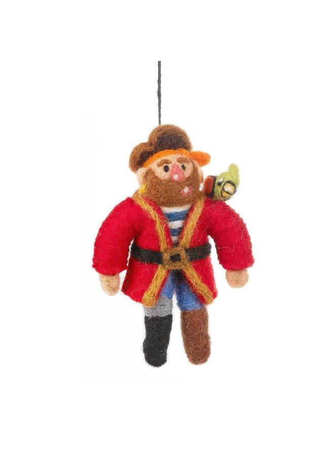 Pirate Pete Filz Hängende Dekoration