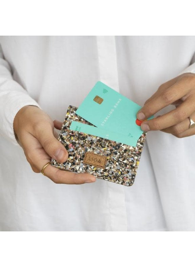 Card Wallet Beach Clean Kork und EVA recycelte Reisepasshülle 37
