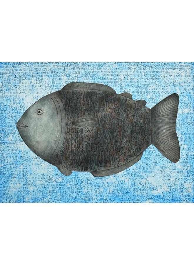 Rongo Rongo Fisch - 40