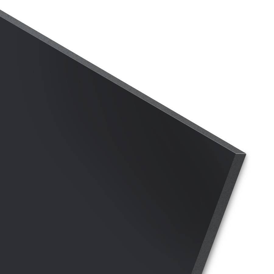 BISKAMI PVC-Kunststoffplatte Schwarz