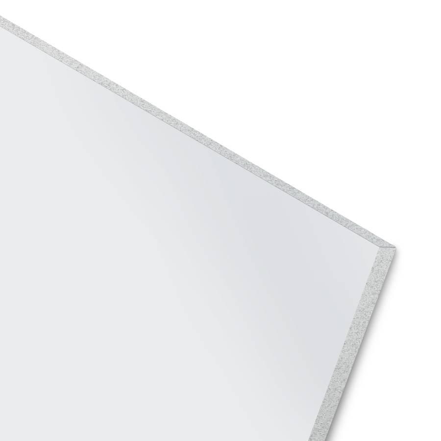 BISKAMI PVC Duschrückwand Weiß