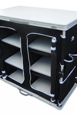 SunnCamp Sunncamp Large Deluxe leicht aufstellbarer Campingschrank