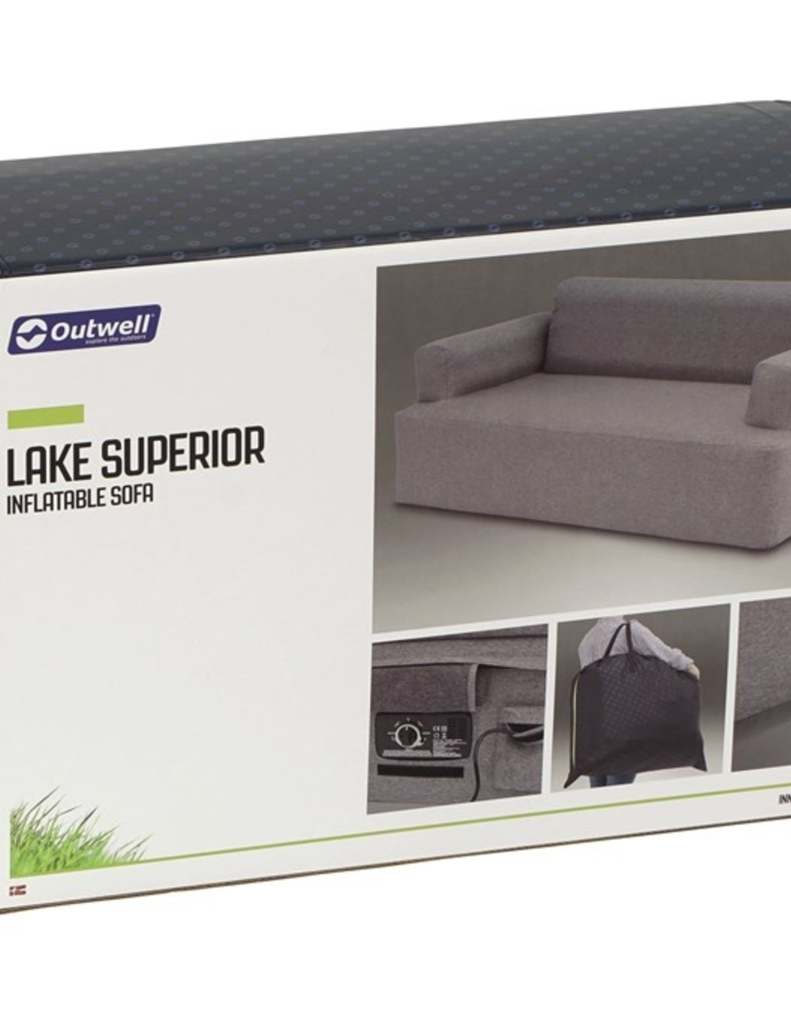 Outwell LAKE SUPERIOR INFLATABLE SOFA OUTWELL