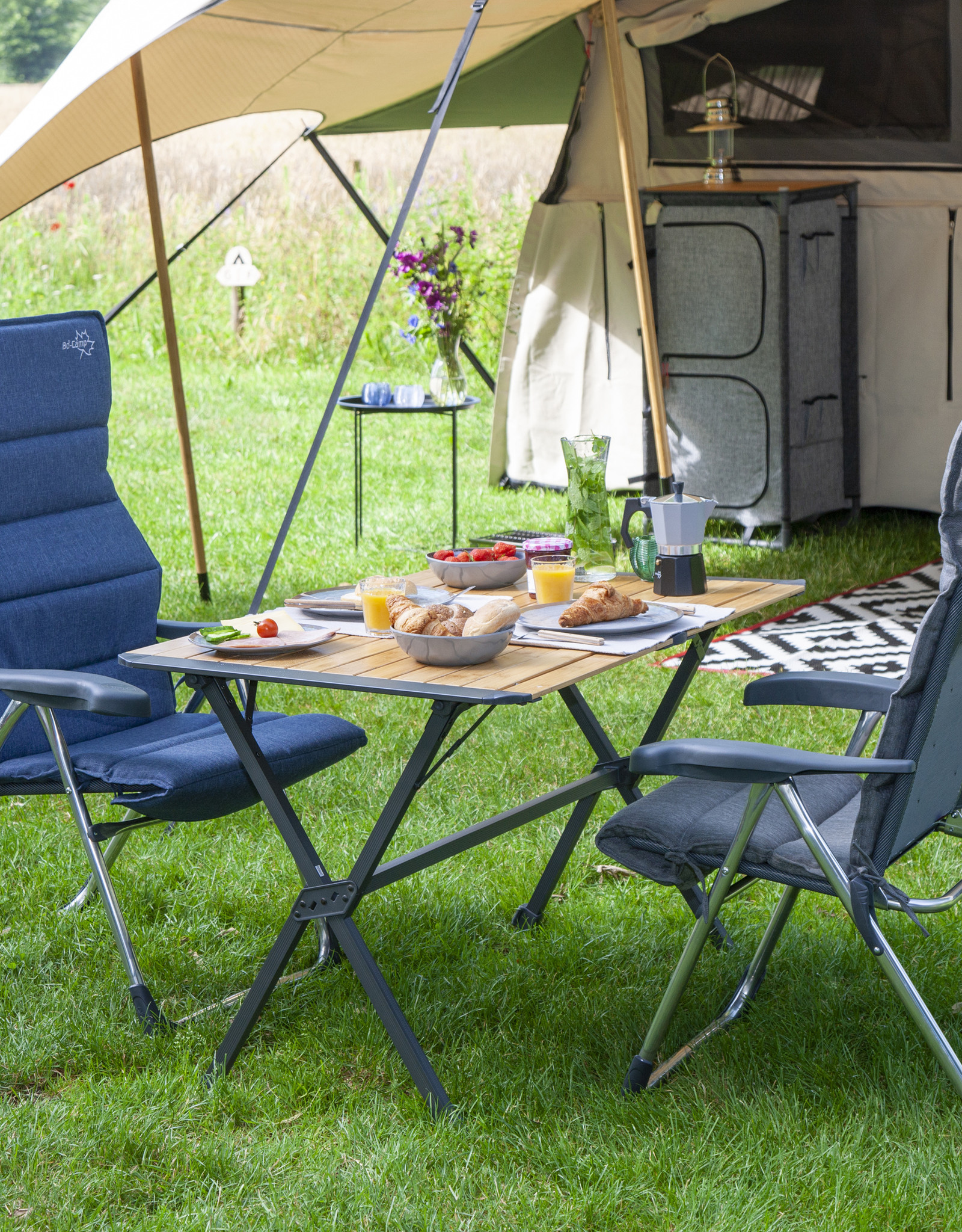 Bo-Camp Maryland tafel Urban outdoor collection