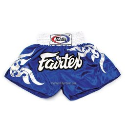 "Fairtex BS0624 ""Thai Glorious Pattern"" Shorts - Blau"