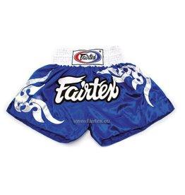 """Fairtex BS0624 """"Thai Glorious Pattern"""" Shorts - Blue"""