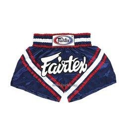 """Fairtex BS0653 """"Brave"""" Shorts - Blue"""
