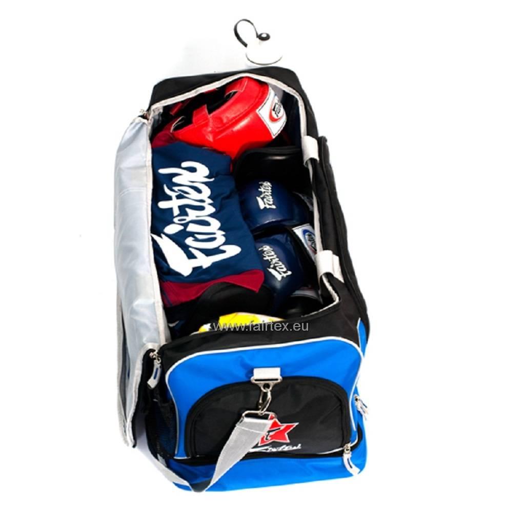 Fairtex BAG2 Fairtex Gym Bag - Blue/Black