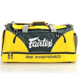 Fairtex BAG2 Fairtex Gym Tas - Geel/Zwart