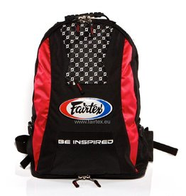 Fairtex BAG4 Fairtex Rucksack - Rot