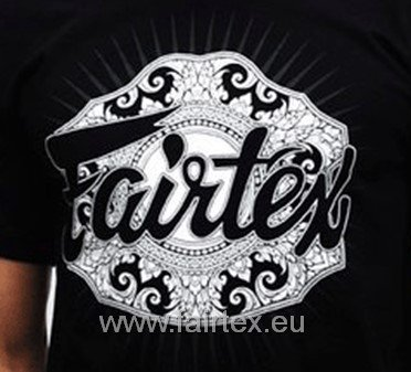 "Fairtex TS37 ""Champion"" T-Shirt - Schwarz"